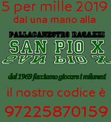 Aiuta il San Pio X, dai al San Pio il tuo 5 per mille